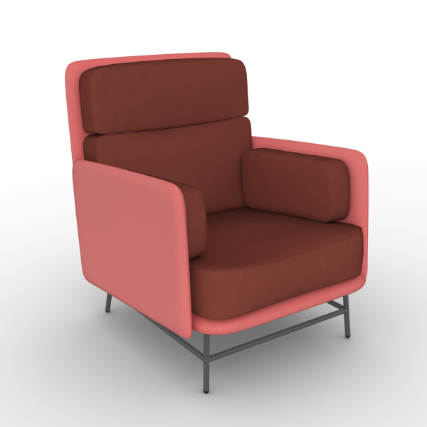 Bits Lounge Chair - Medium Version