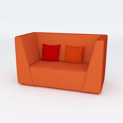Uno per due : la nostra poltrona in veste di divano 2 posti