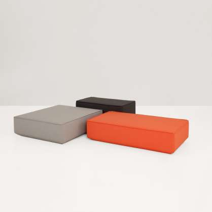 Ein kreatives Möbel: der Pouf