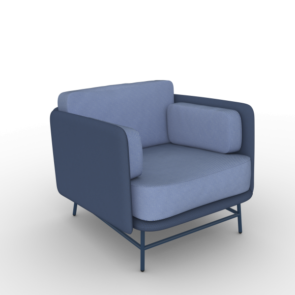 Bits Lounge Chair - Low Version