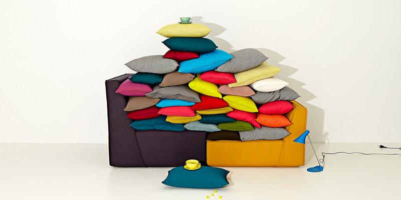 Sofa Modul mit Kissen