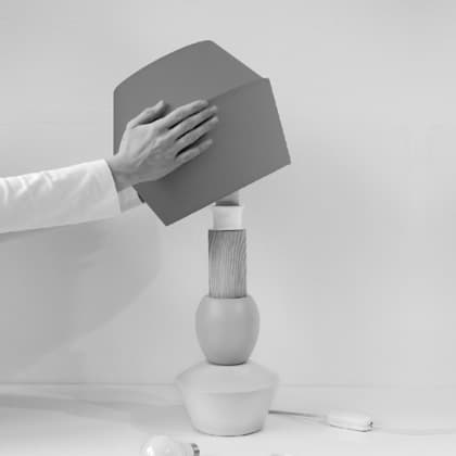 Modulare Lampe Aufbau Lampenschirm