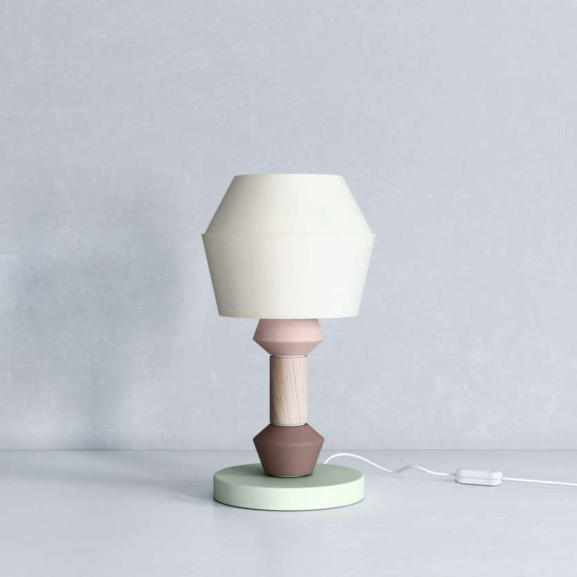 Table lamp in a modern look