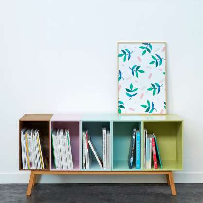 Modern sideboard for LPs