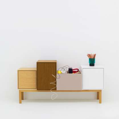Wide sideboard and base frame with many options