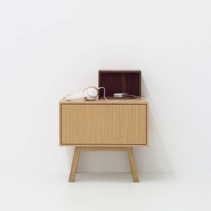 Small sideboard with additional compartment