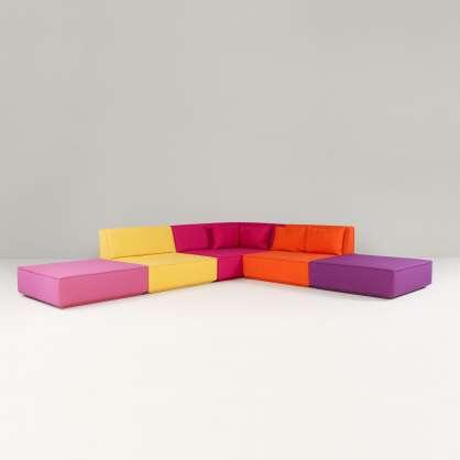 Canapé d angle en format généreux
