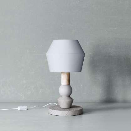 Modulare Lampe im japanischen Stil