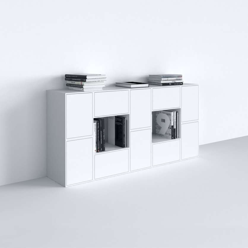 Individuell, konfigurierbares Sideboard