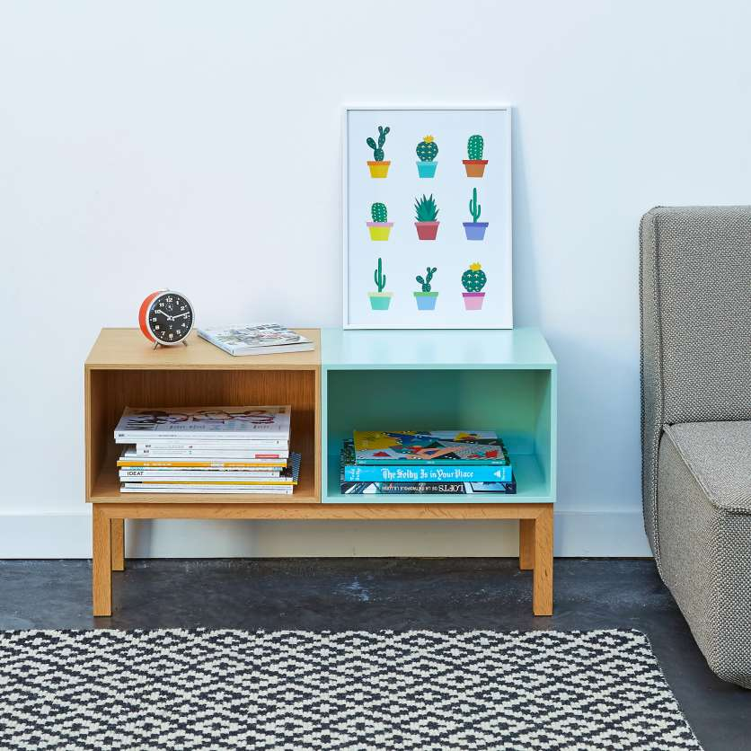 Compact, modern sideboard, 80cm wide