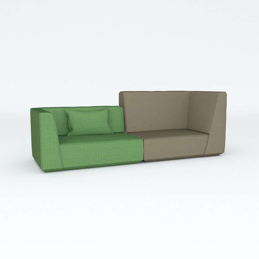 Sofa with attractive texture