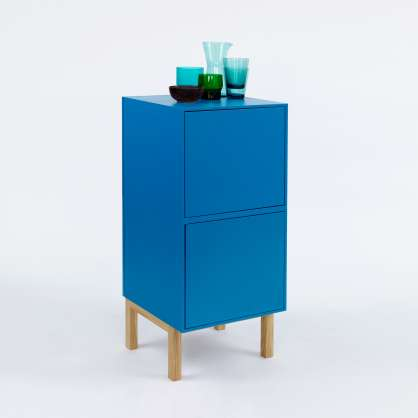 Small cabinet in blue