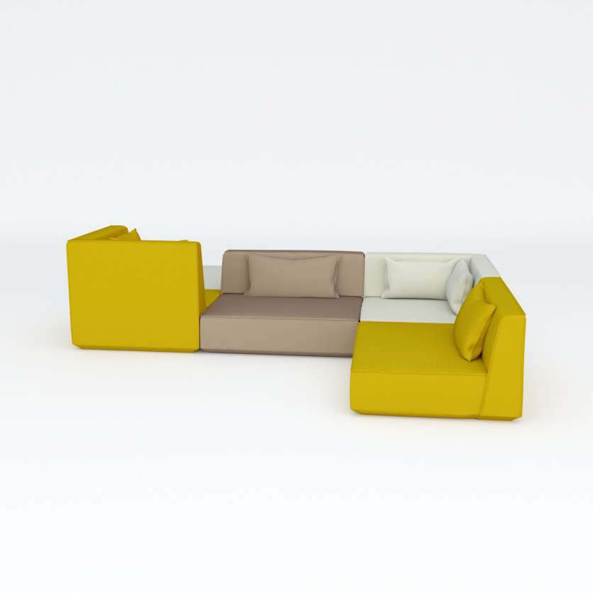 Corner sofa – as spacious as a sofa ensemble