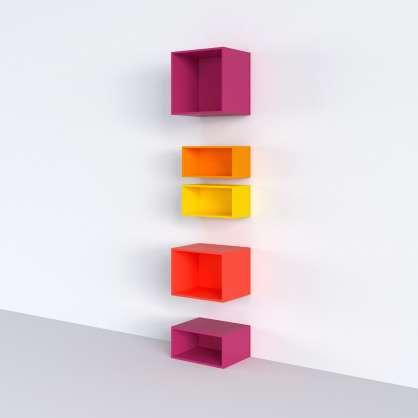 Système d étagères étroit pour niches