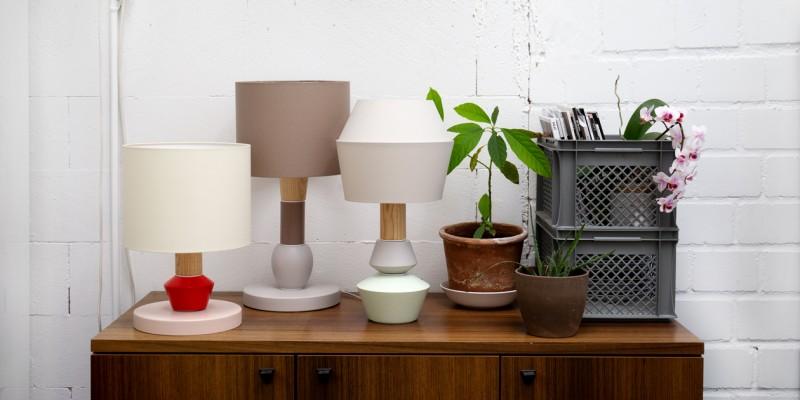Lampe als Tischleuchte