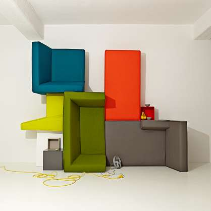 Una questione di prospettiva : divani moderni e puristi