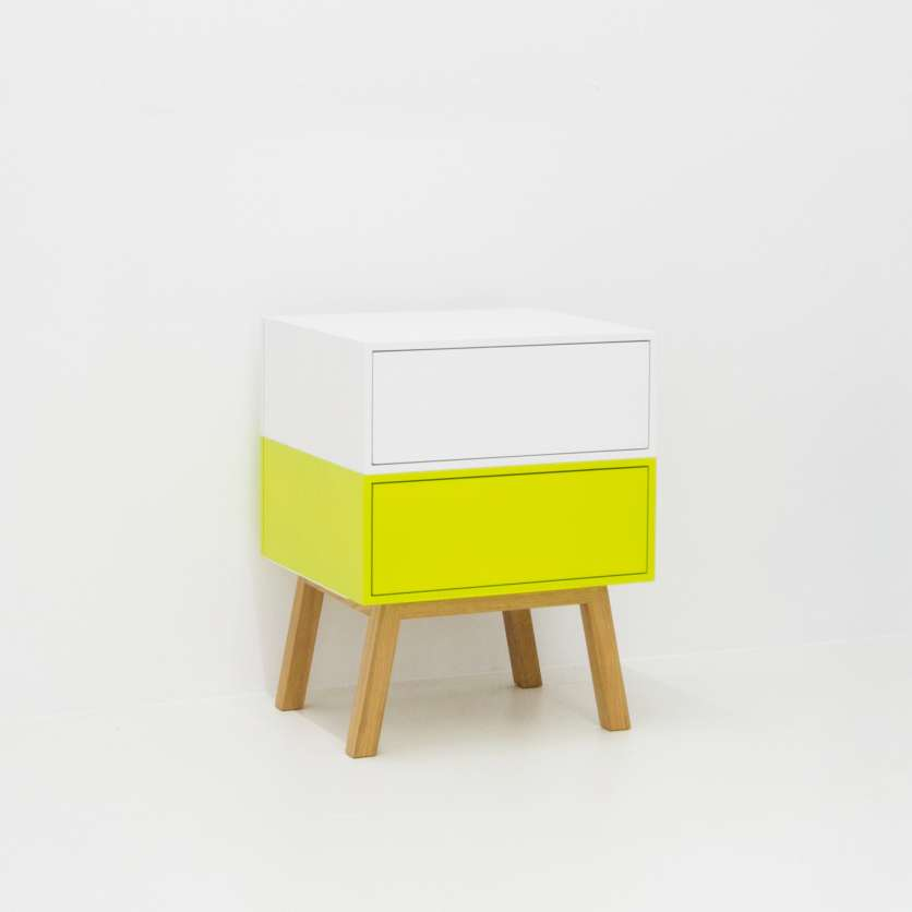 Mini sideboard with two drawer modules