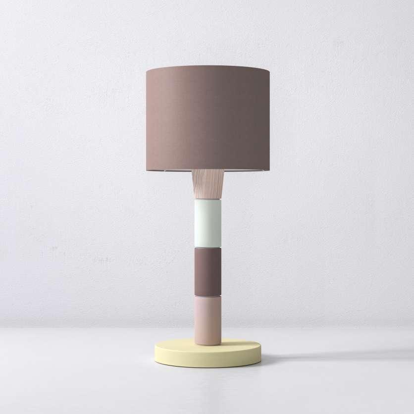 Lampada da tavolo con moduli a colori vivace