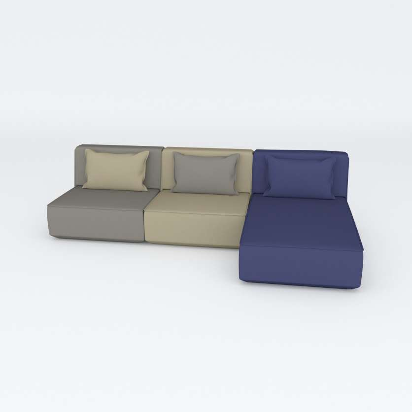 3-seater sofa celebrating a Nordic, relaxing atmosphere
