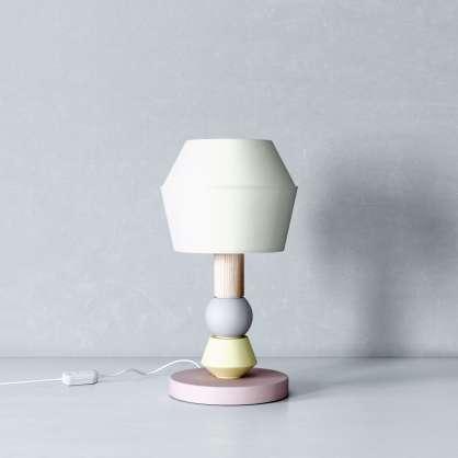 Modulare Lampe im minimalistischen Design