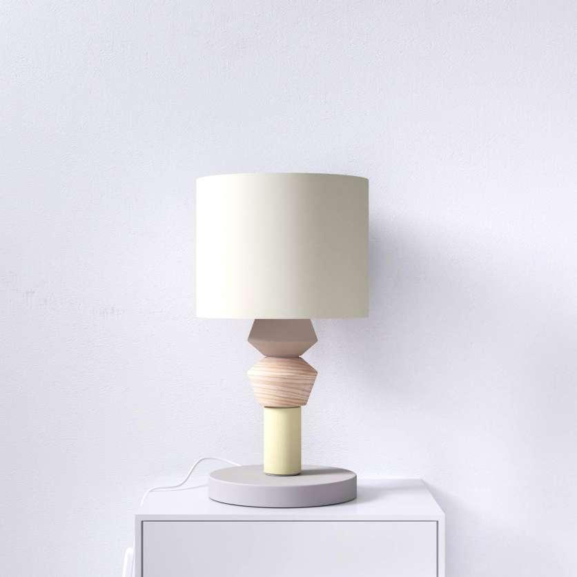 Lampe à poser avec modules interchangeables