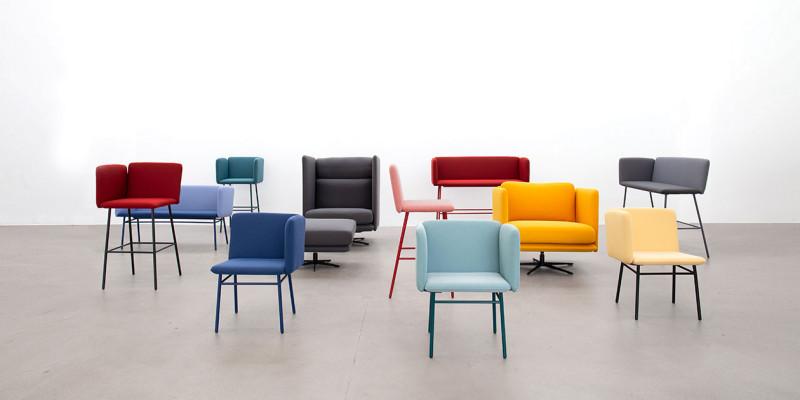 Bits Stühle in verschiedenen Variationen