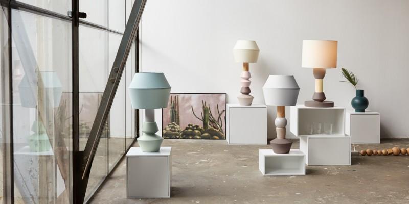 Modulare Lampe in verschiedenen Formaten