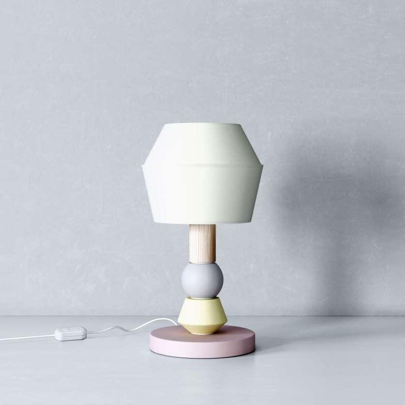 Modular lamp in minimalistic design