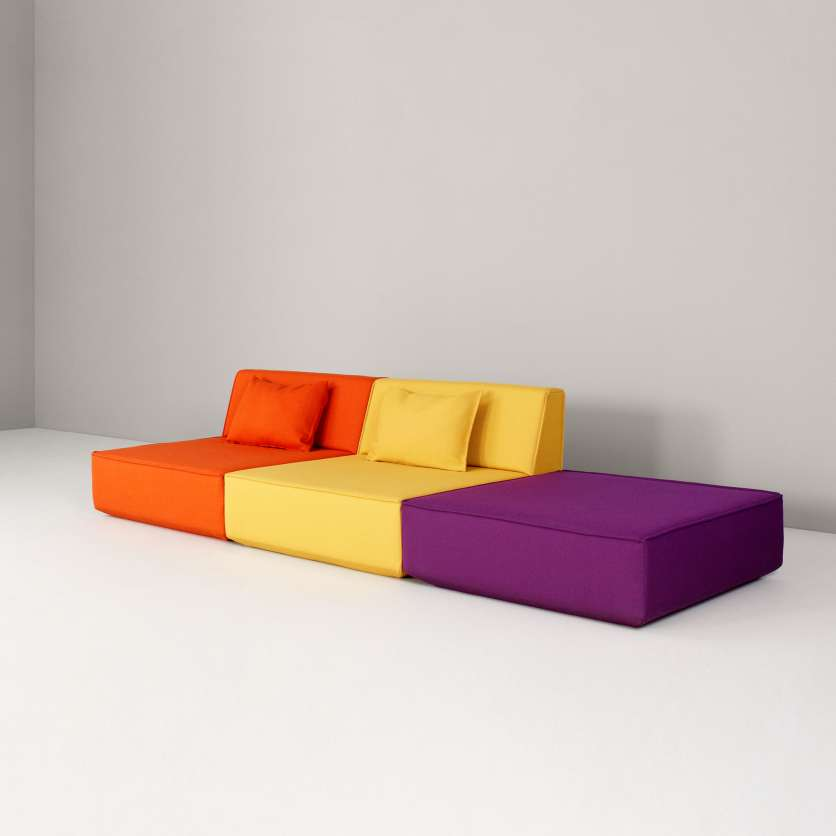 A German sofa with Italian flair