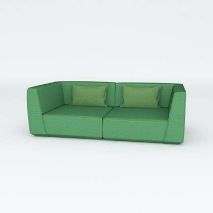 Naturalmente bello : biposto modulare di colore verde