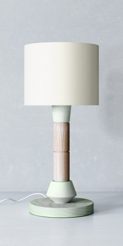 Bedside lamp in Art Déco style