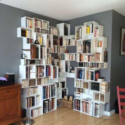 Bibliothèque pour angle
