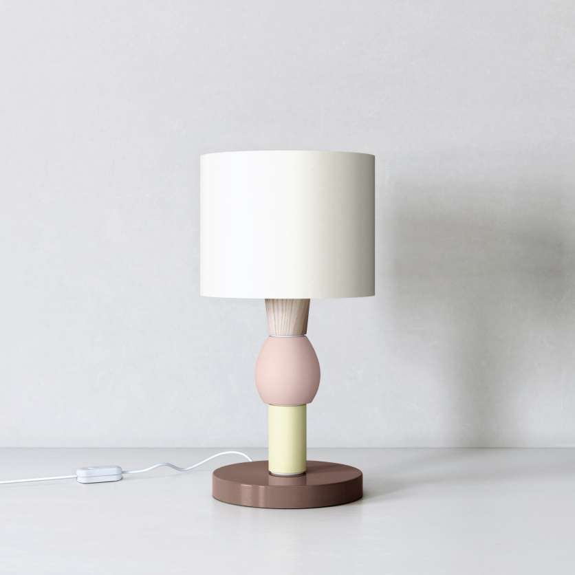 Table lamp as a design object