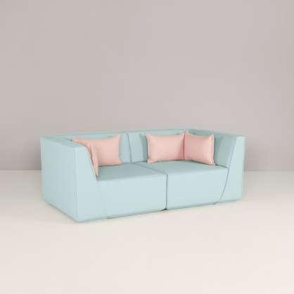 Un canapé 2 places confortable grâce à l assise haute