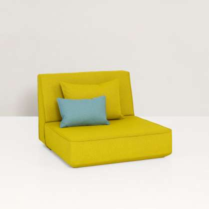 Chaise longue for two