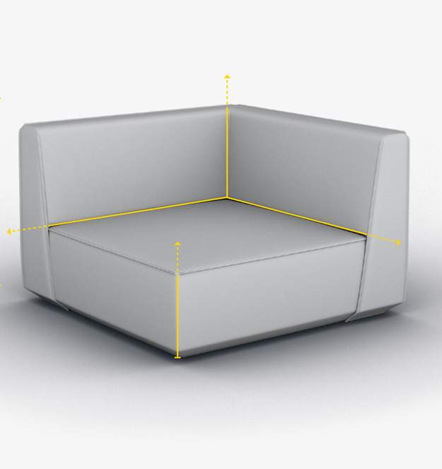 All sofa modules overview