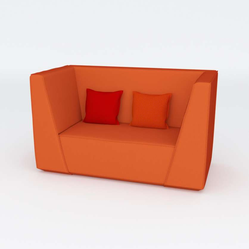 One chair with room for two: our armchair as a 2-seater sofa