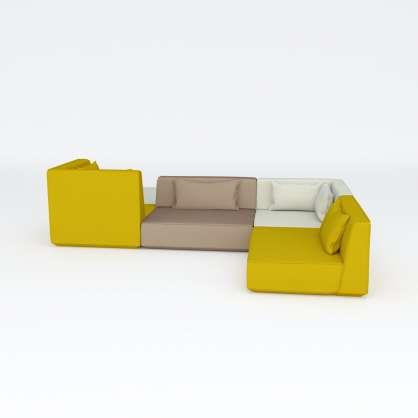 Canapé d angle propose une surface d assise aussi généreuse qu un canapé panoramique.
