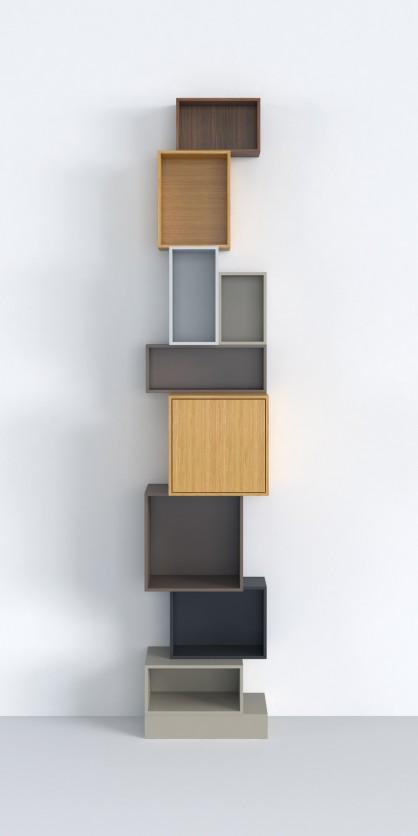 Le juste milieu entre utilité et esthétique : étagère pour niches